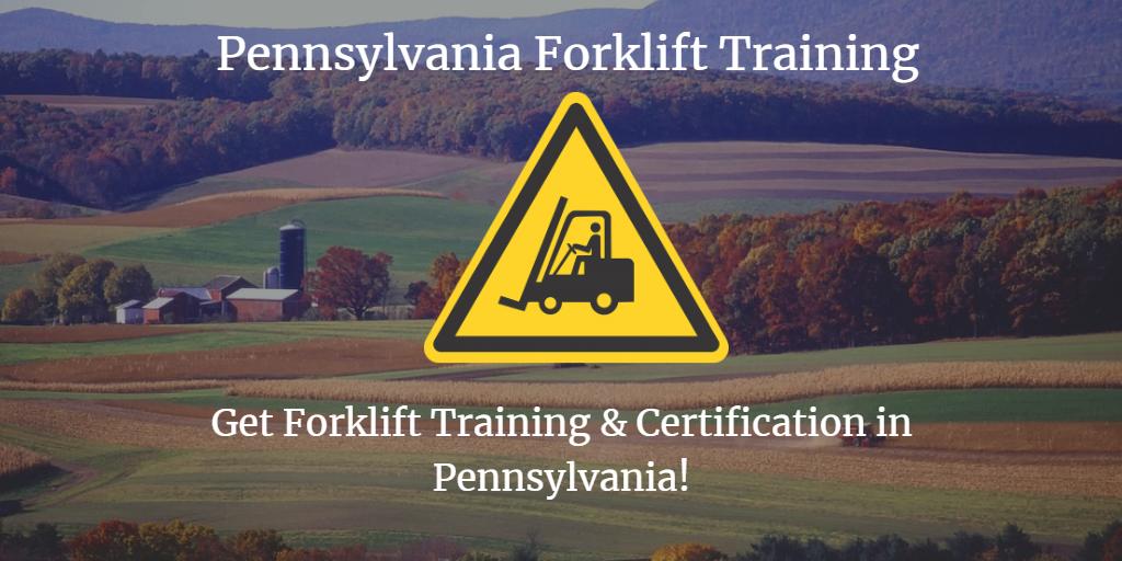 Pennsylvania Forklift Training