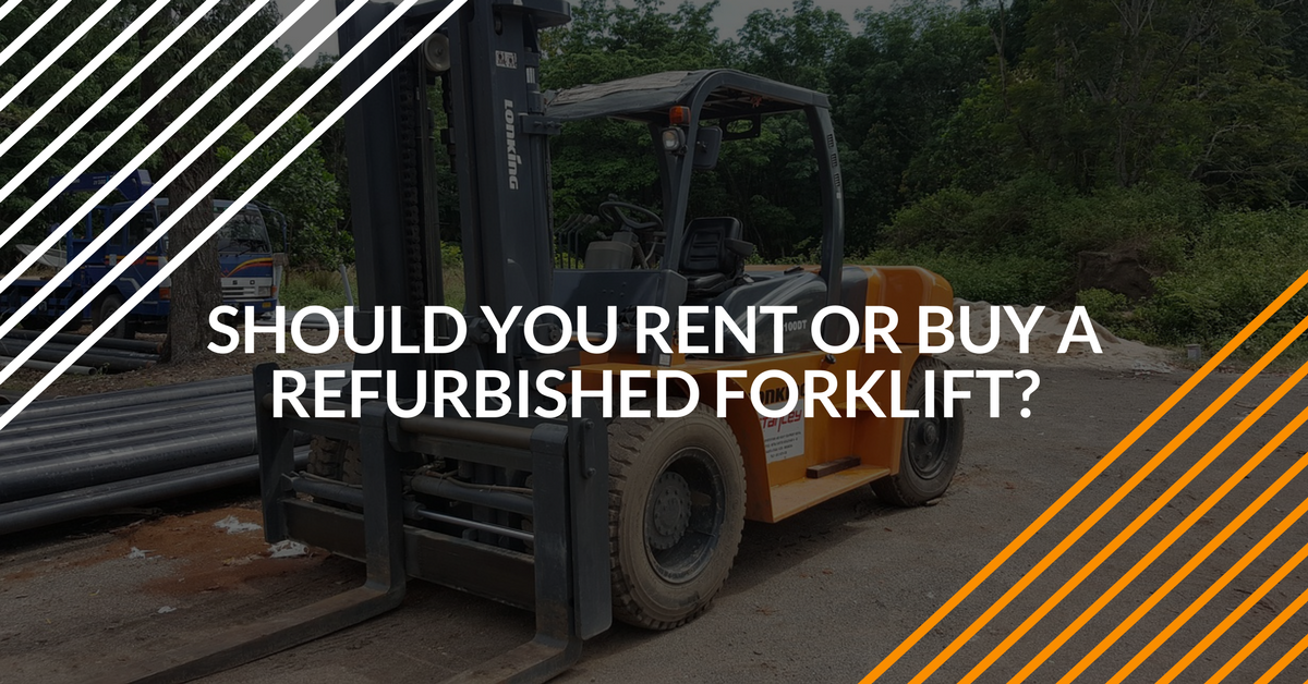 used forklifts for sale - should you buy one?