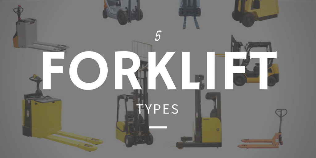 5 forklift types