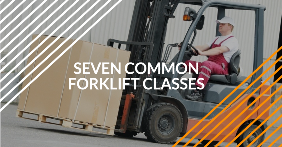 Seven Common Forklift Classes