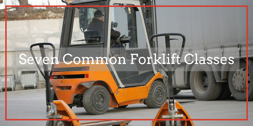 Seven Common Forklift Classes Flc