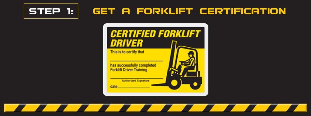 get a forklift certification