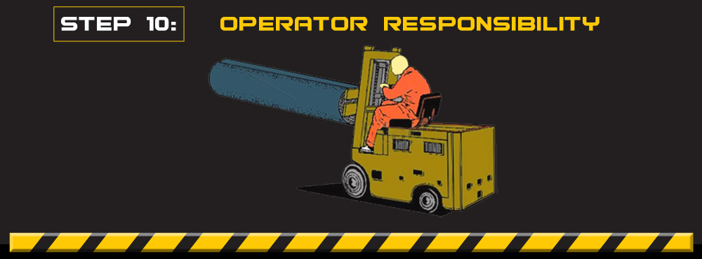 forklift operator responsibility