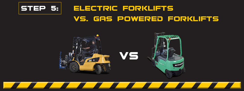 electric vs gas forklifts