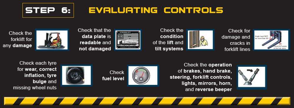 forklift controls