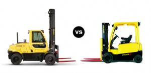 Electric Forklift VS Gas Forklift