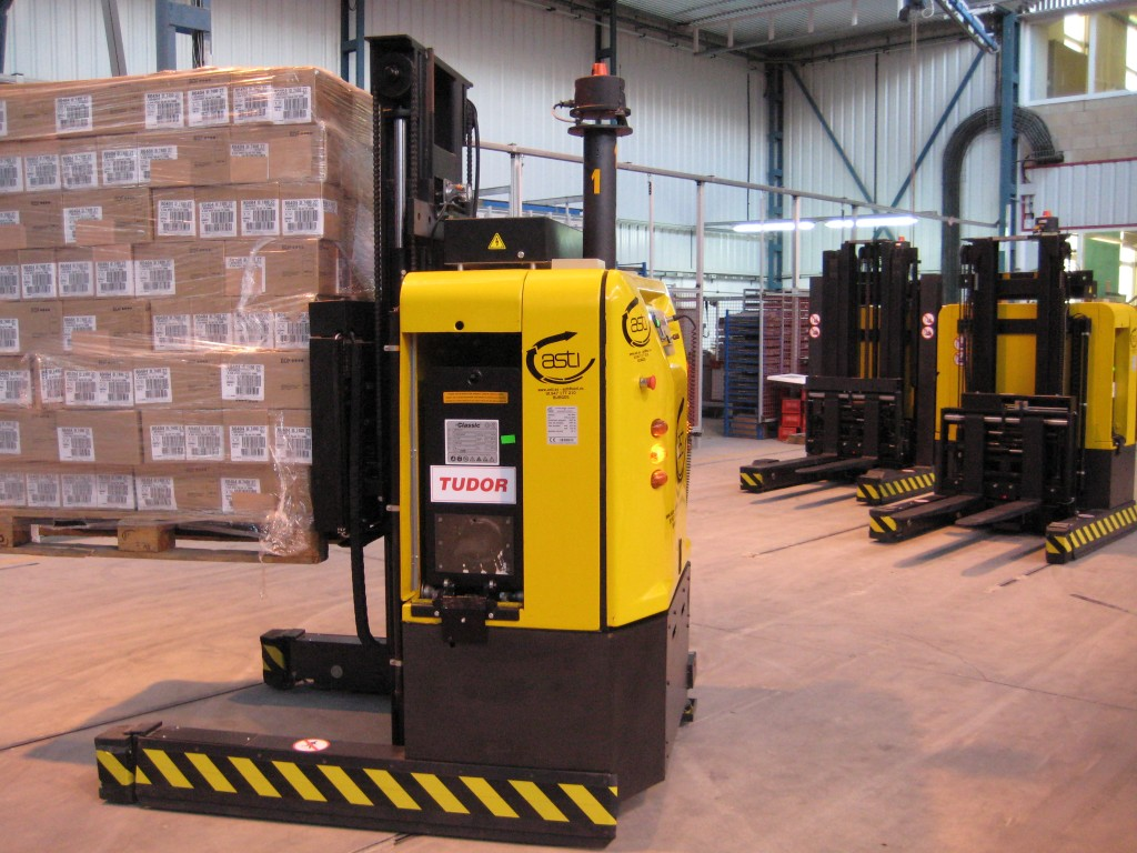 Automatically Guided Forklift - Courtesy of WikiMedia