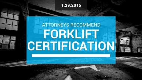 chicago forklift certification