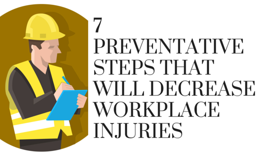 Decrease Workplace Injuries