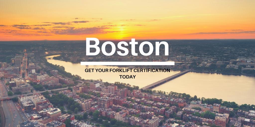 Boston Forklift Certification