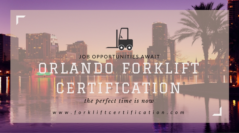 Orlando Forklift Certification