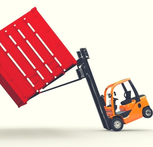 find out how you can avoid a forklift tip-over