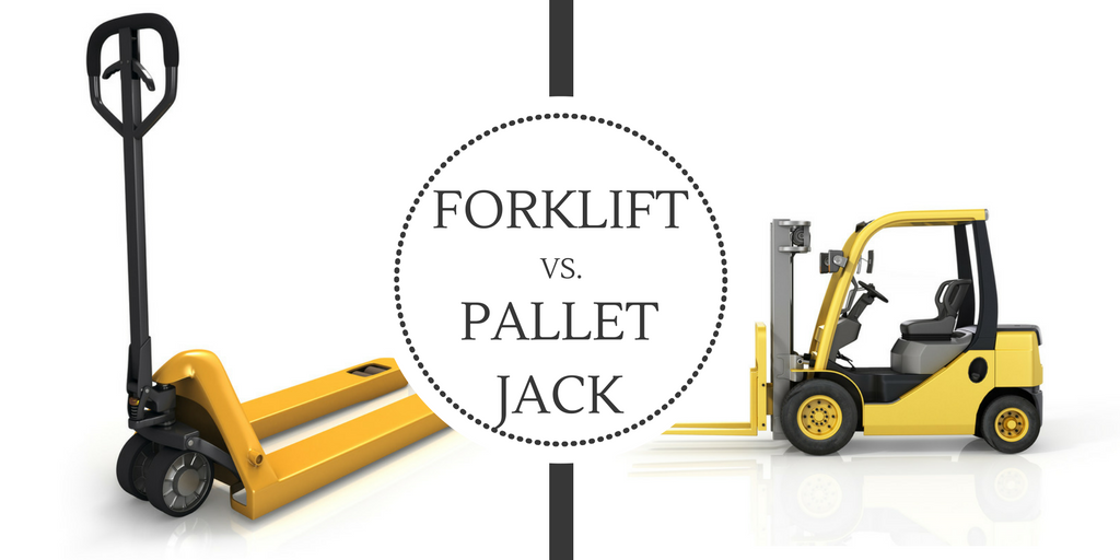 When To Use A Forklift Vs A Pallet Jack