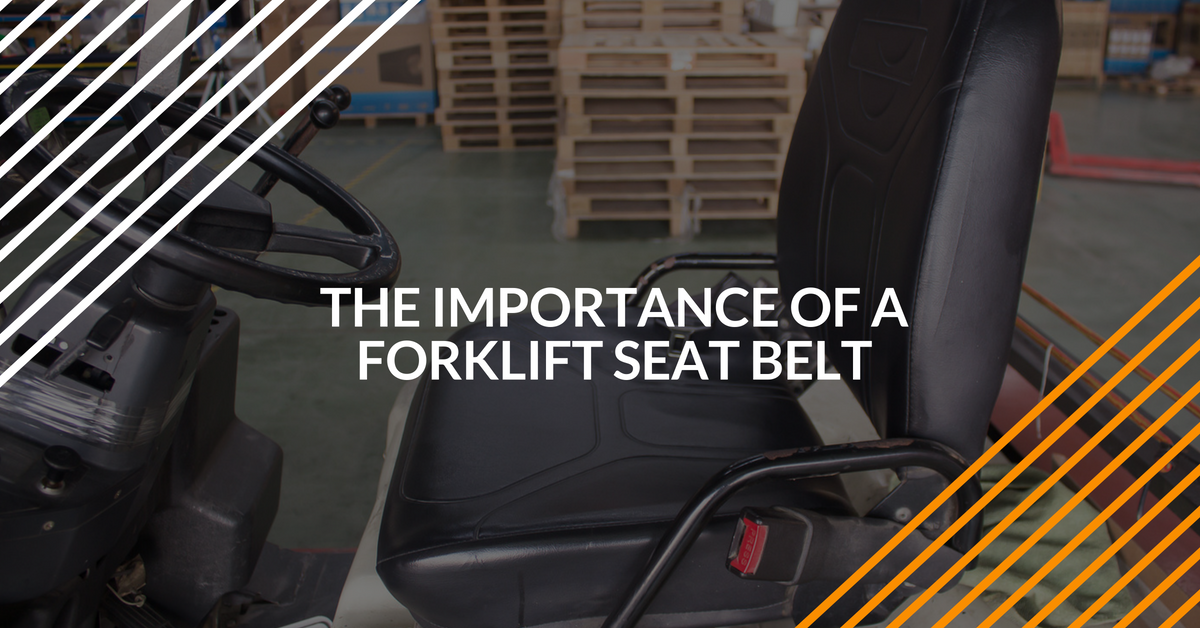 why you should use a forklift seat belt