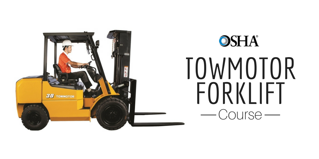 towmotor forklift certification sign up for online
