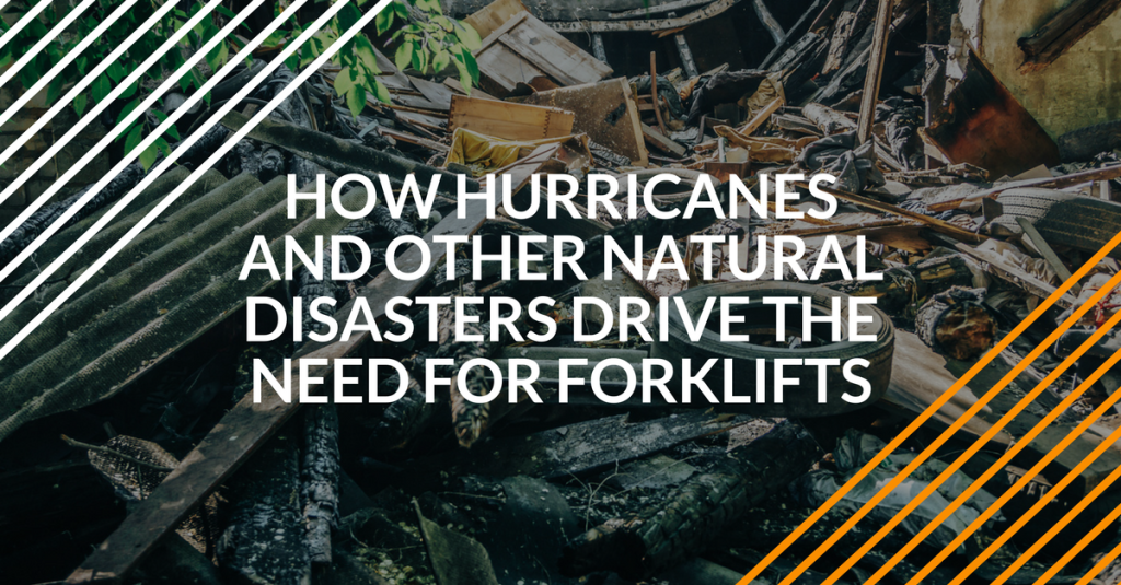 forklifts and hurricane relief