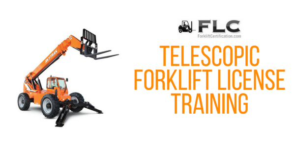FLC telescopic forklift license training