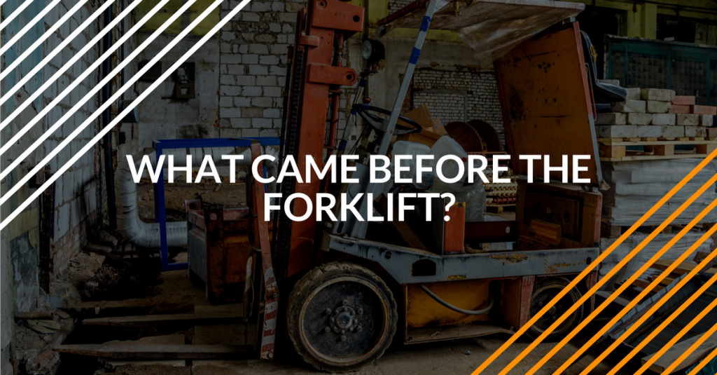 history of the forklift