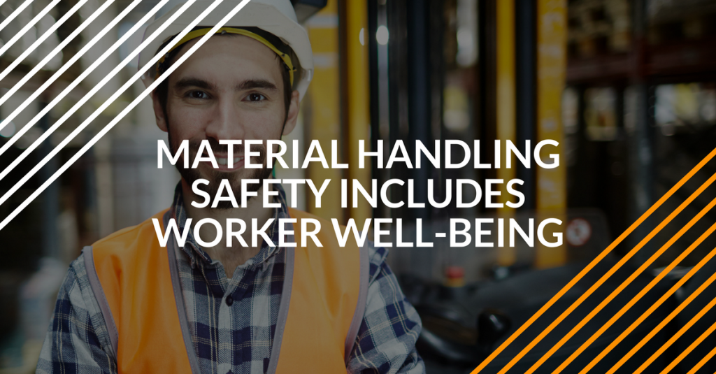 material handling and employee well-being