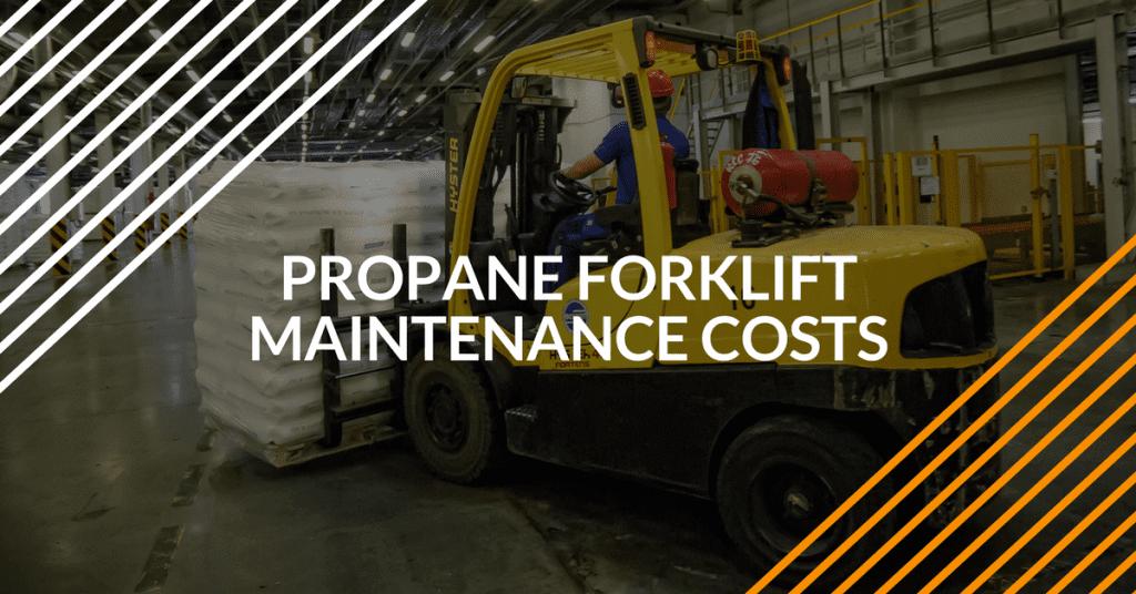 FLC - propane forklift maintenance costs