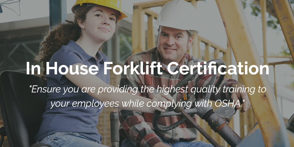 In House Forklift Certification Train Your Employees Internally Flc