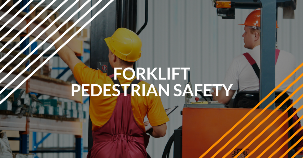 forklift pedestrian safety includes warehouse workers