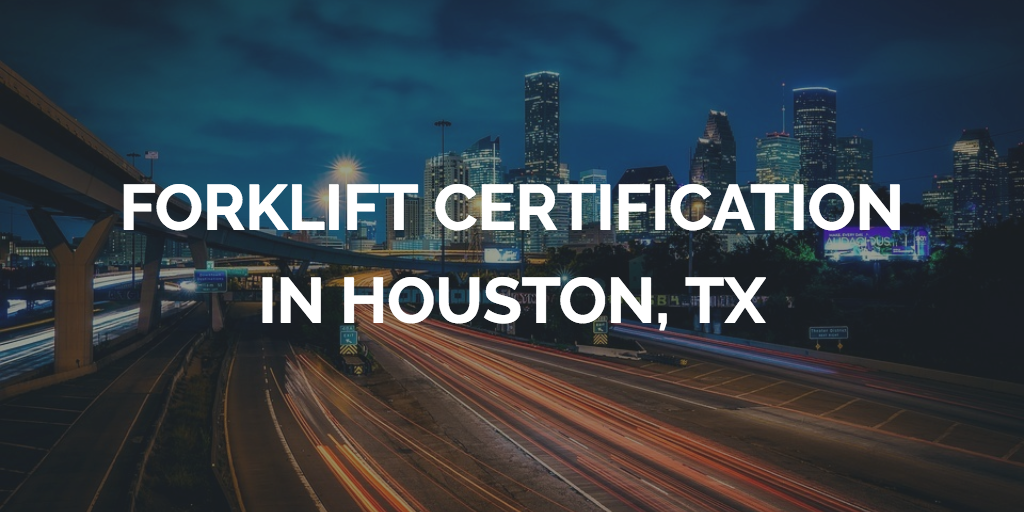 Houston Forklift Certification Get Employees Houston Forklift Training
