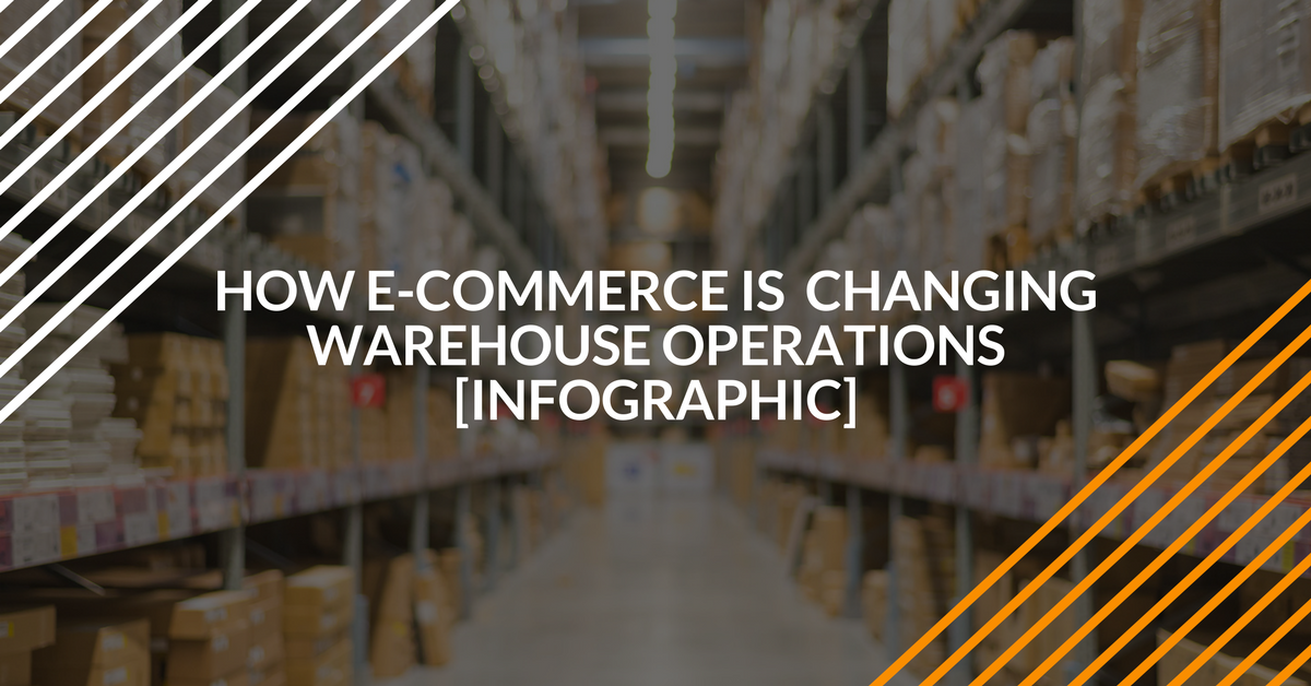 e-commerce is changing warehouse operations