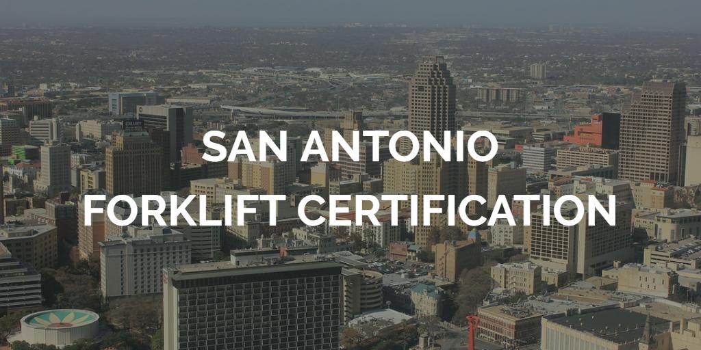 San Antonio Forklift Certification Get Forklift Training In San Antonio