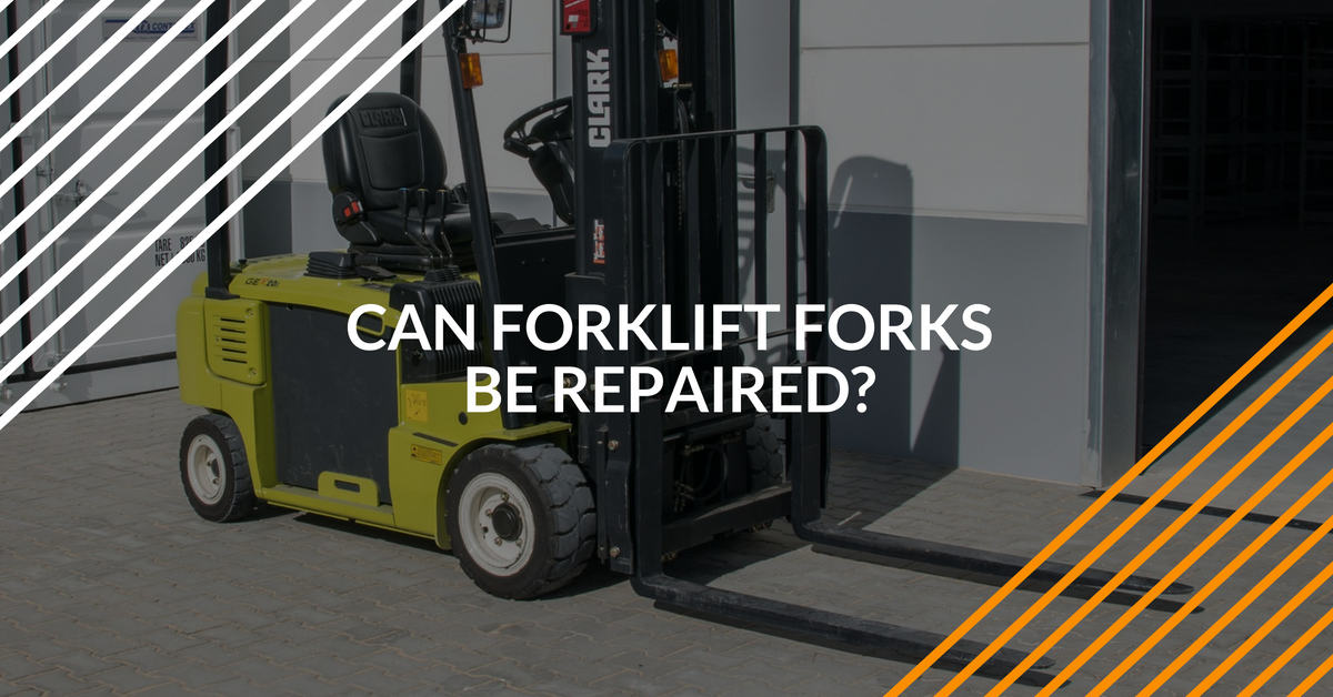 learn how and when to repair forklift forks