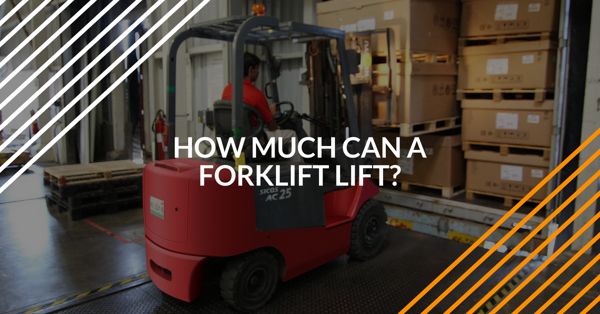 How much weight can a forklift lift? Find out in this post!