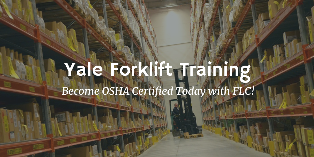 yale forklift training