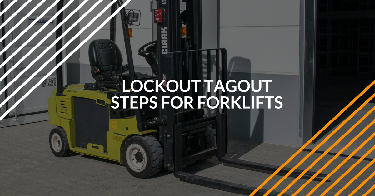 lockout tagout program for forklifts