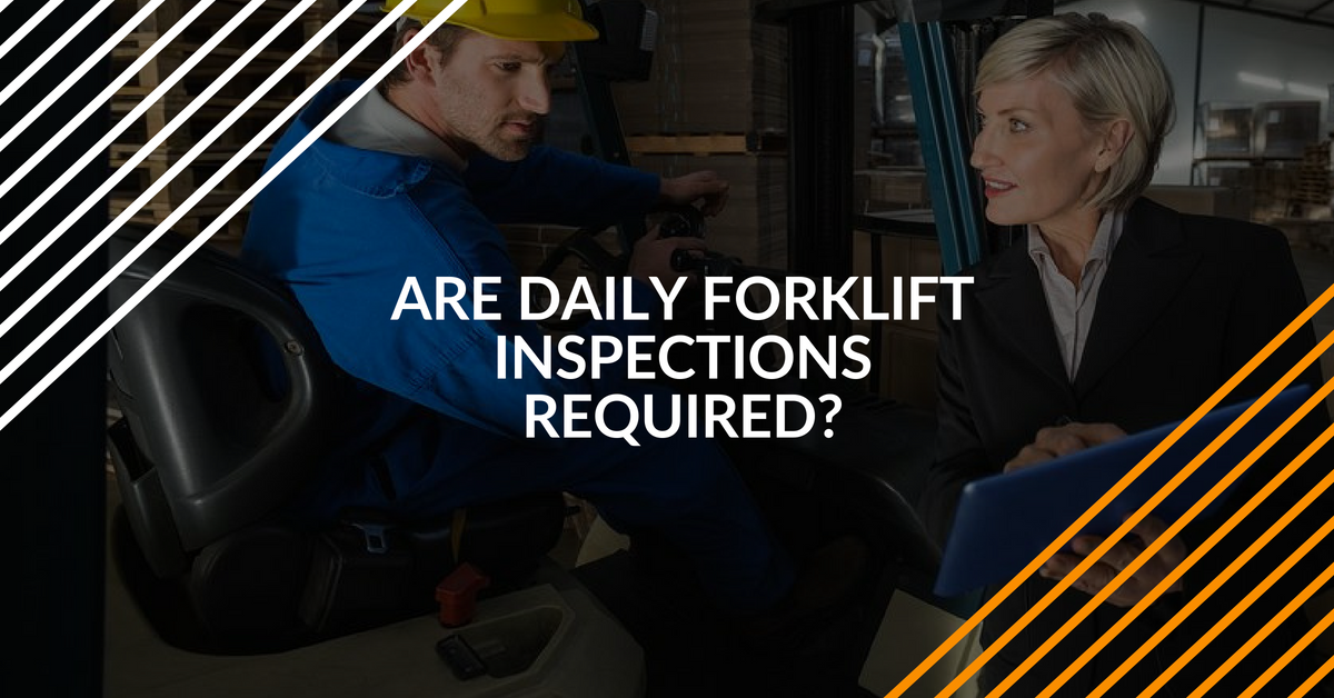 daily forklift inspection requirements