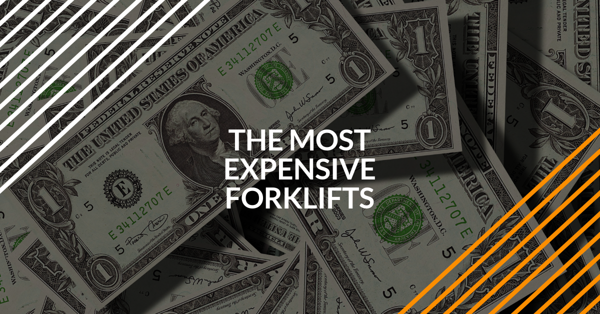the most expensive forklifts in the world