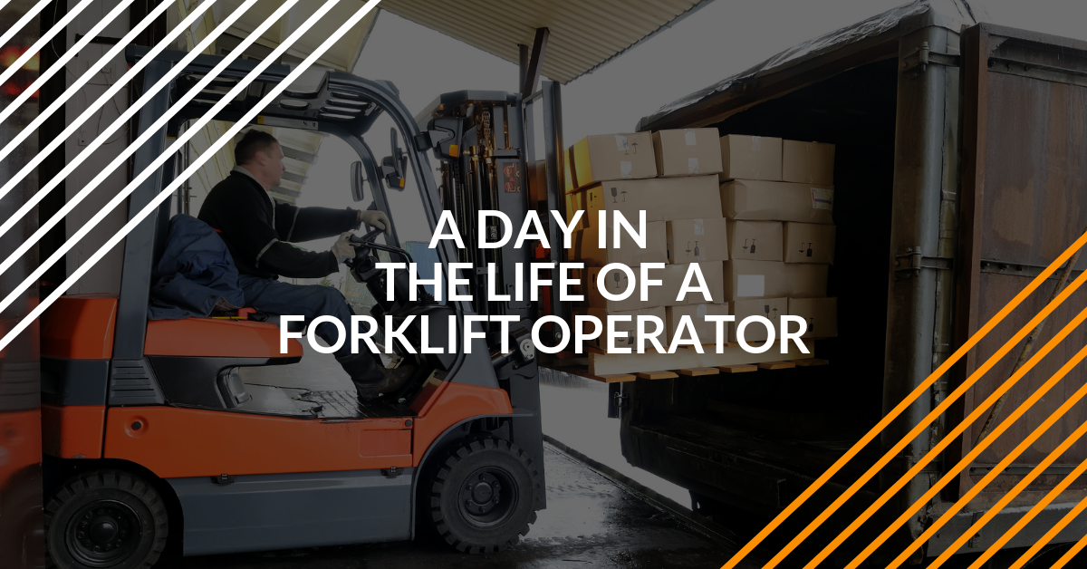 A Day in the Life of a Forklift Operator