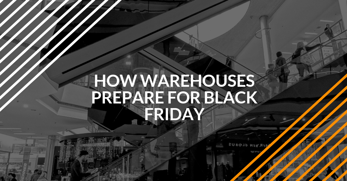 how warehouses prepare for black friday