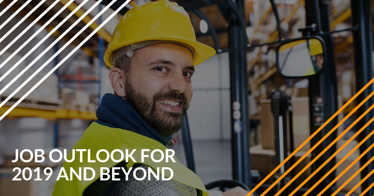 Job Outlook for 2019 and Beyond for Forklift Operators