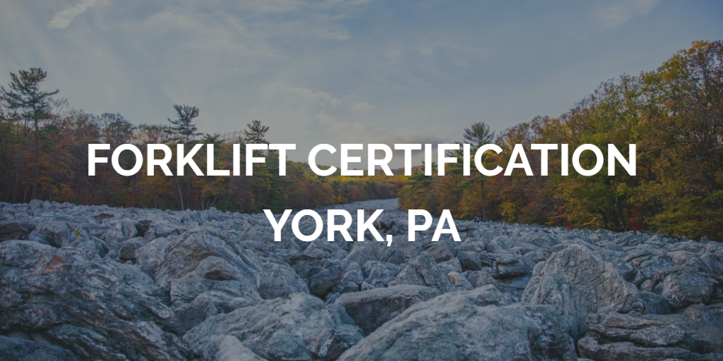 forklift certification york pa