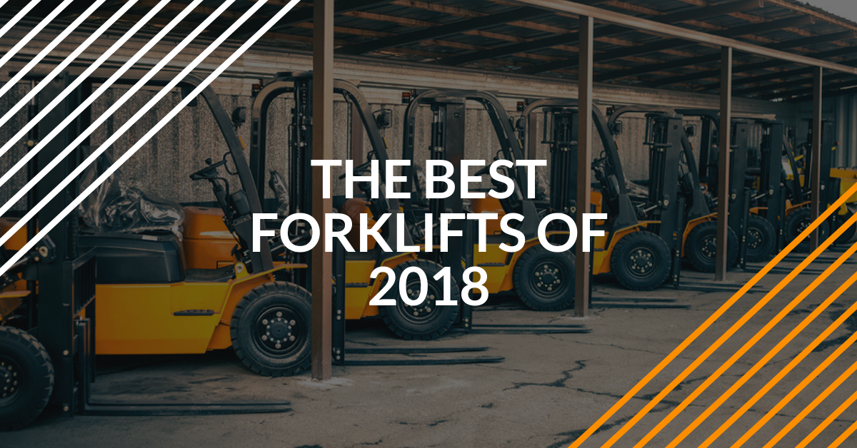 The Year in Review: The Best Forklifts of 2018 and Other New Models