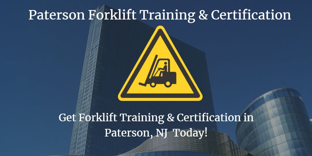 Paterson Forklift Training