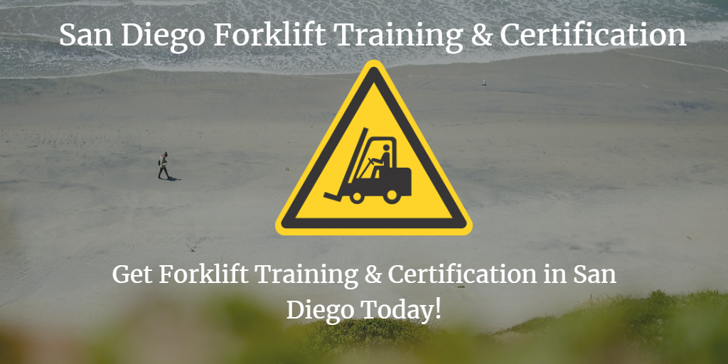 San Diego Forklift Training