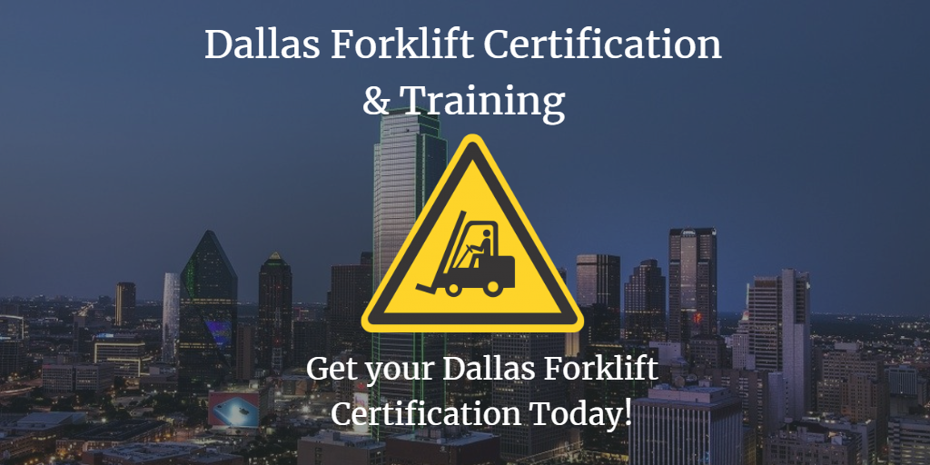 dallas forklift training